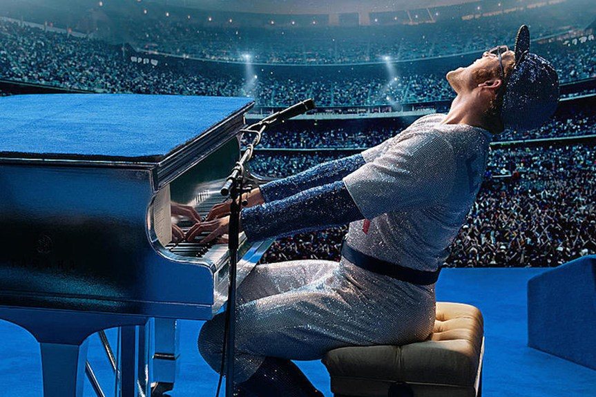 The Flamboyant Flair of Rocketman Sets a New Bar for Music Biopics