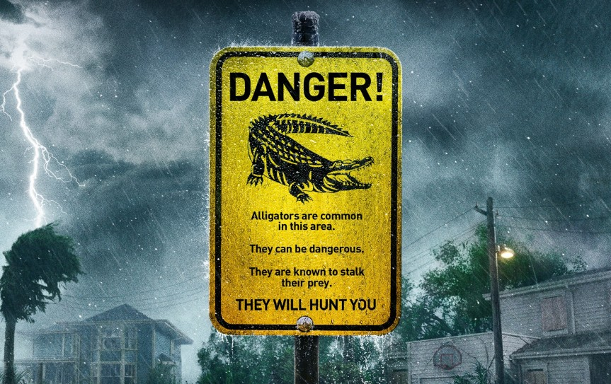 Crawl – A Tight, Tense Creature Feature in Dirty Florida Flood Water